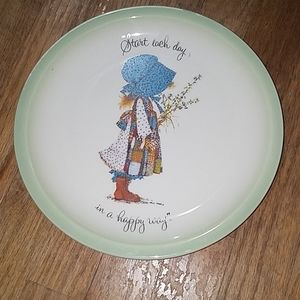 Holly Hobbie Collecter's Edition Plate